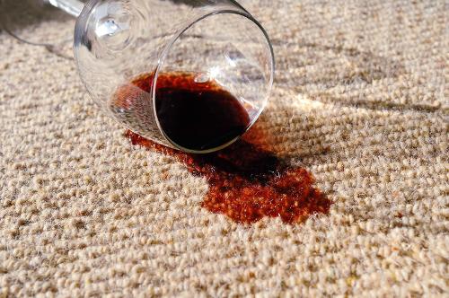 Петно от вино